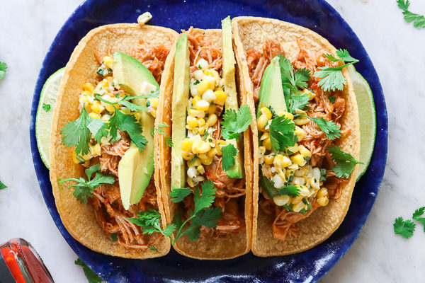 Harissa Chicken Tacos