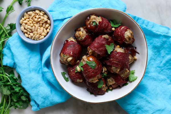 Kofta Stuffed Dates