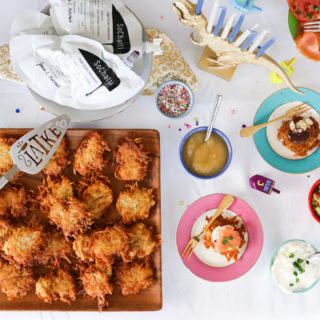 How to Host a Latke Bar Party with SoChatti Chocolate