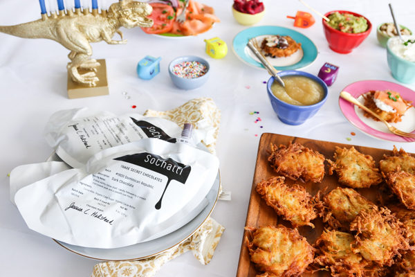 How to Host a Latke Bar Party