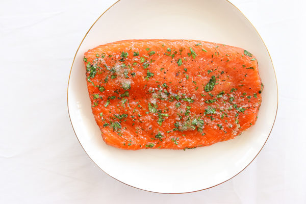 Gin and Tarragon Lox