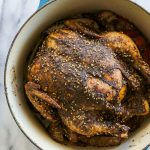 Za'atar Roasted Chicken Over Sumac Potatoes