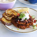 Chicken Shawarma Latkes