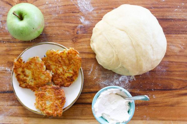 Latkes Stuffed Challah