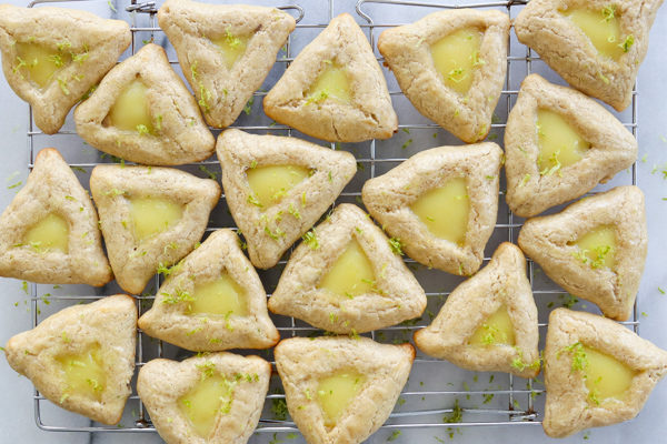 Ginger Lime Hamantaschen