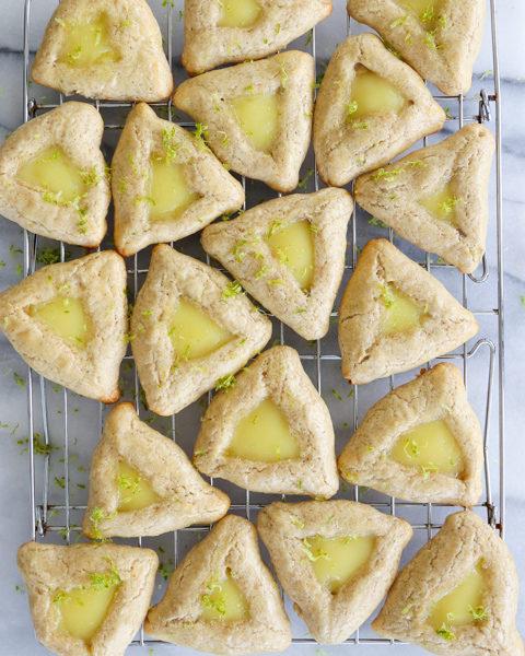 Ginger Lime Hamantaschen