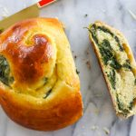Spinach and Cheese Challah