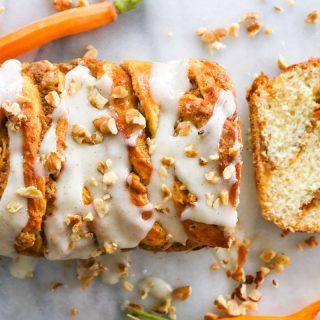 Carrot Cake babka
