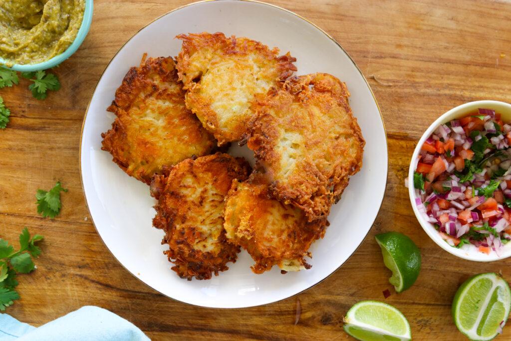 Breakfast Taco Latkes