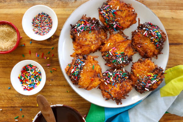 sweet potato dessert latkes