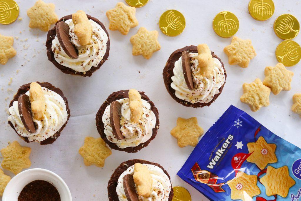 Mini Chocolate Shortbread Tarts