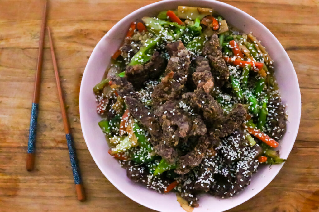 Chinese Beef and Broccolli