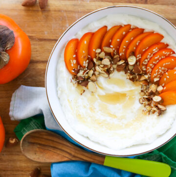 Persimmon Yogurt Bowl