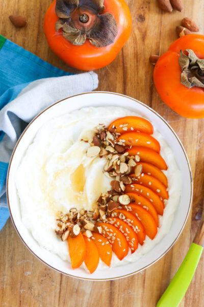 Persimmon Yogurt Bowl