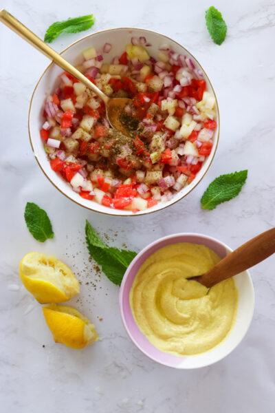 Turmeric Tahini Sauce