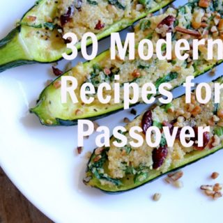 Modern Recipes for Passover