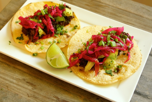 Braised Tongue Tacos  11
