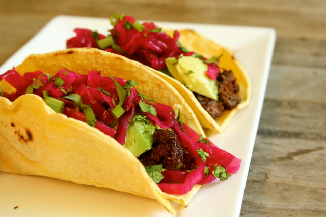 Braised Tongue Tacos  12