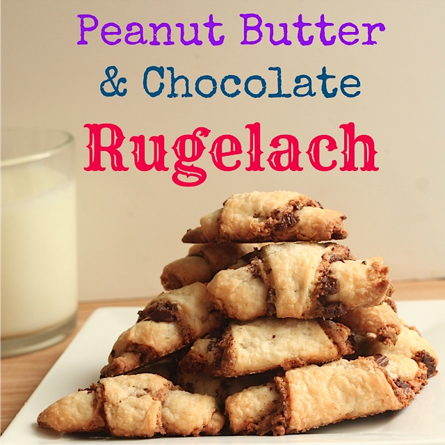 Peanut Butter & Chocolate Rugelach