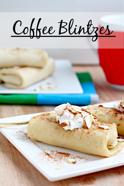 Coffee Blintzes