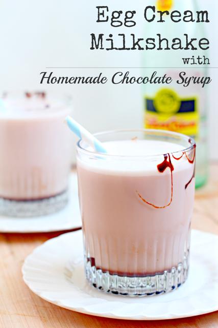 Egg Cream Recipe with Homemade Chocolate Syrup