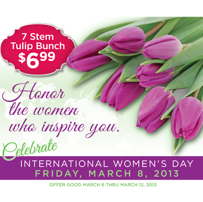 Happy Women's Day from H-E-B!!