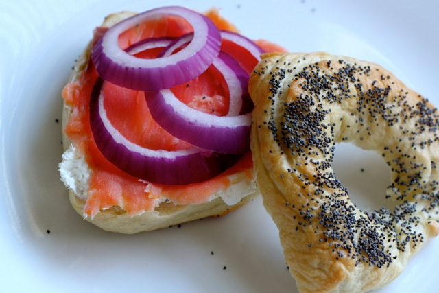 Poppy Seed Hamantaschen Bagels