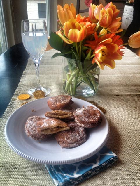 Apple Pie Doughnuts (Sufganiyot)