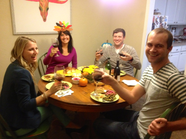 A Thanksivukkah Meal