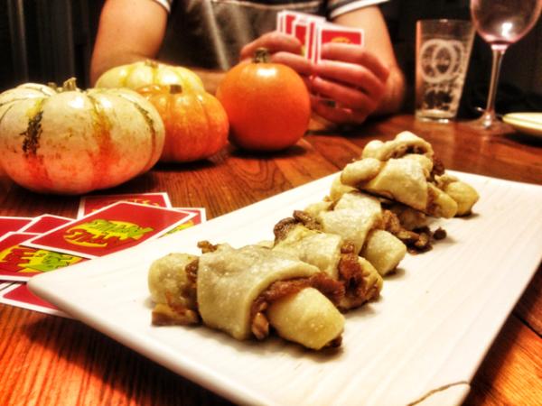 A Thanksgivukkah Meal