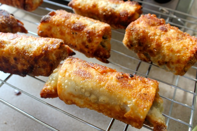 pot roast egg rolls