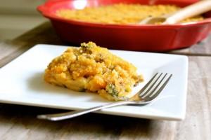 Kale and Mushroom Quinoa Mac and Cheese