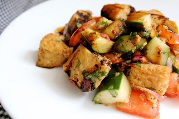 Israeli Panzanella Salad