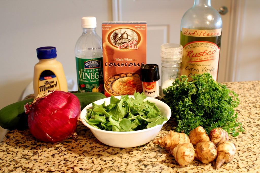Jerusalem Artichoke Salad 3