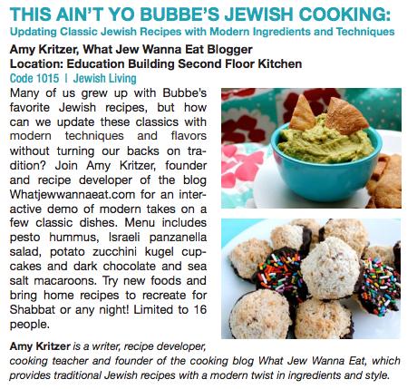 Jewish Cooking Class