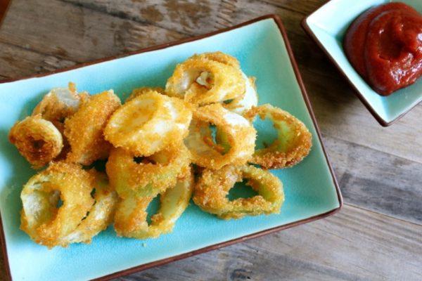 Fried Leek Rings