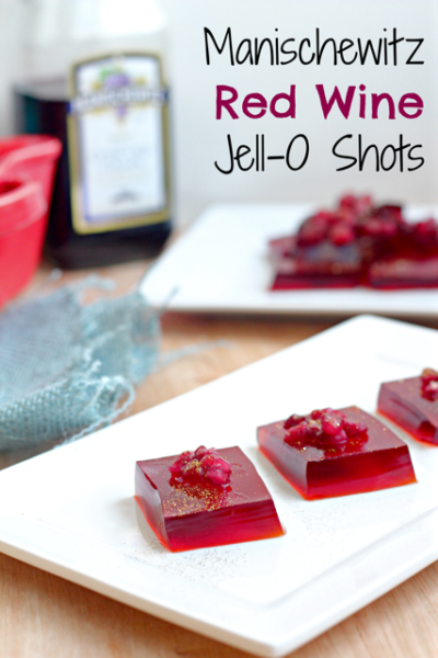 Manischewitz Red Wine Jello Shots