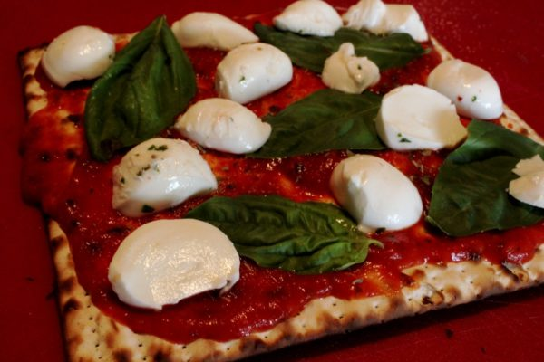 Margarita Matzah Pizza