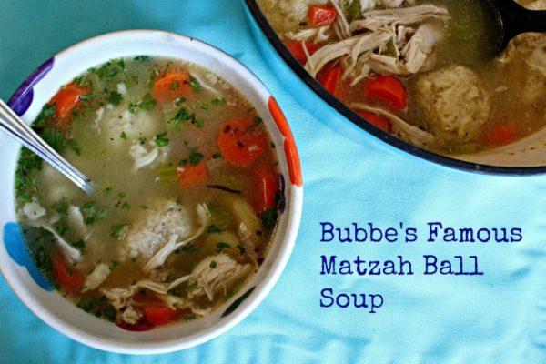 Bubbe's Matzah Ball Soup