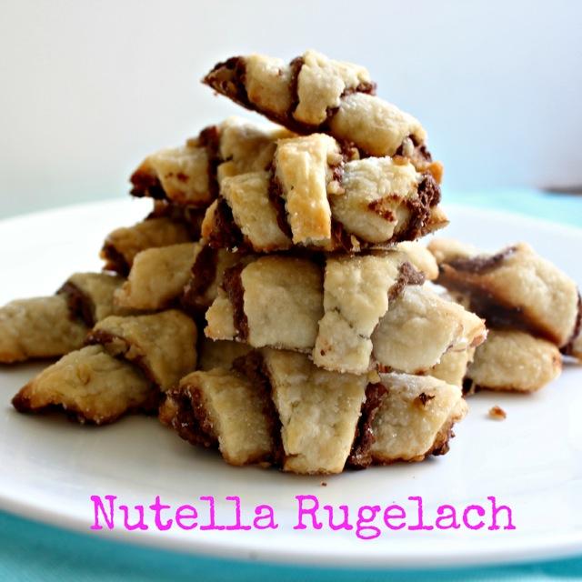 Nutella Rugelach