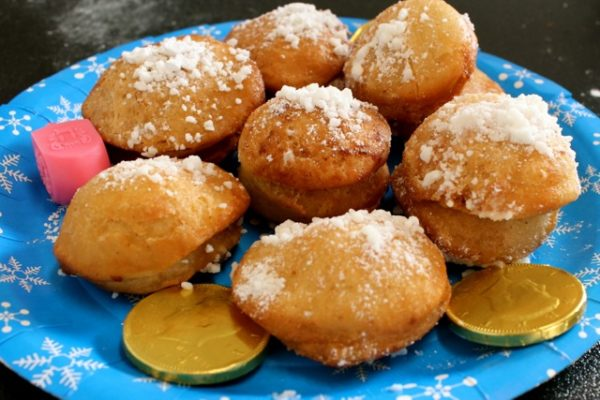 Peanut Butter and Jelly Sufganiyot