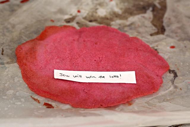 Pomegranate Fortune Cookie