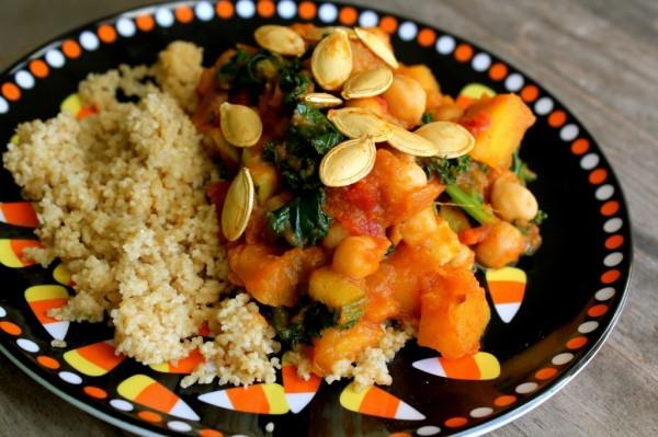 Pumpkin and Kale Stew