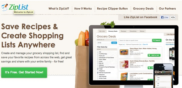 Saving & Printing Recipes on the New WJWE with ZipList!