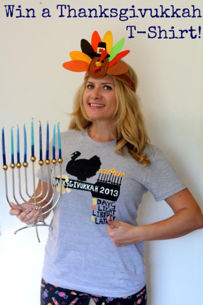 Thanksgivukkah T-shirt Giveaway
