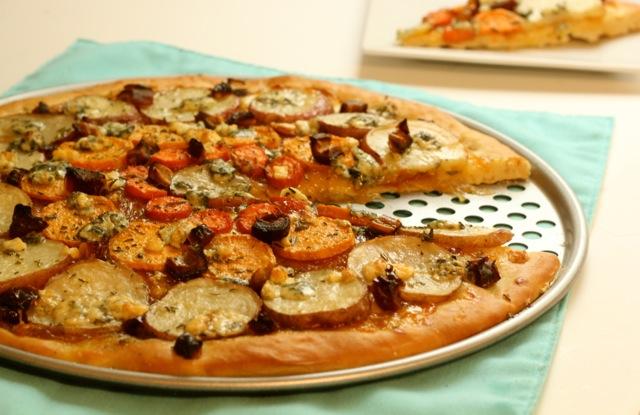 Tzimmes Flatbread Pizza