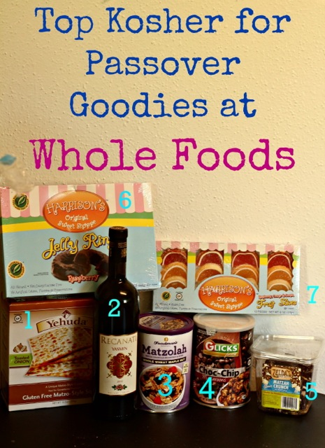 best kosher for Passover foods