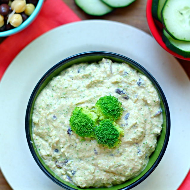 Broccoli Black Bean Hummus
