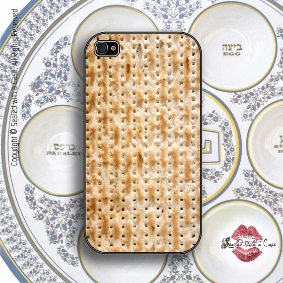 Giveaway: Passover Matzo / Matzah – iPhone Case!