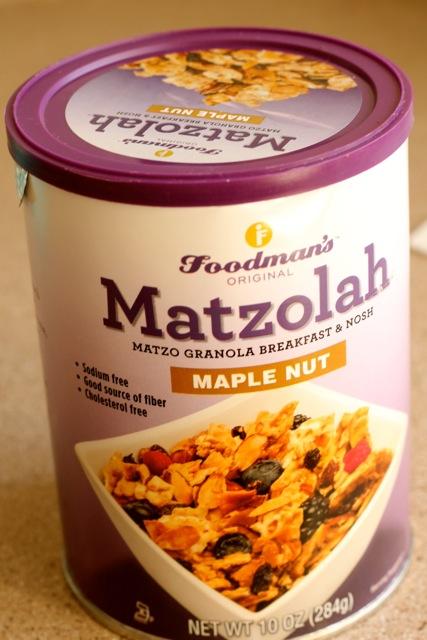 matzolah passover granola giveaway
